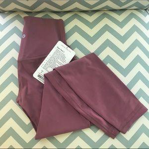 Lululemon So Merlot Align Pant NWT Size 2